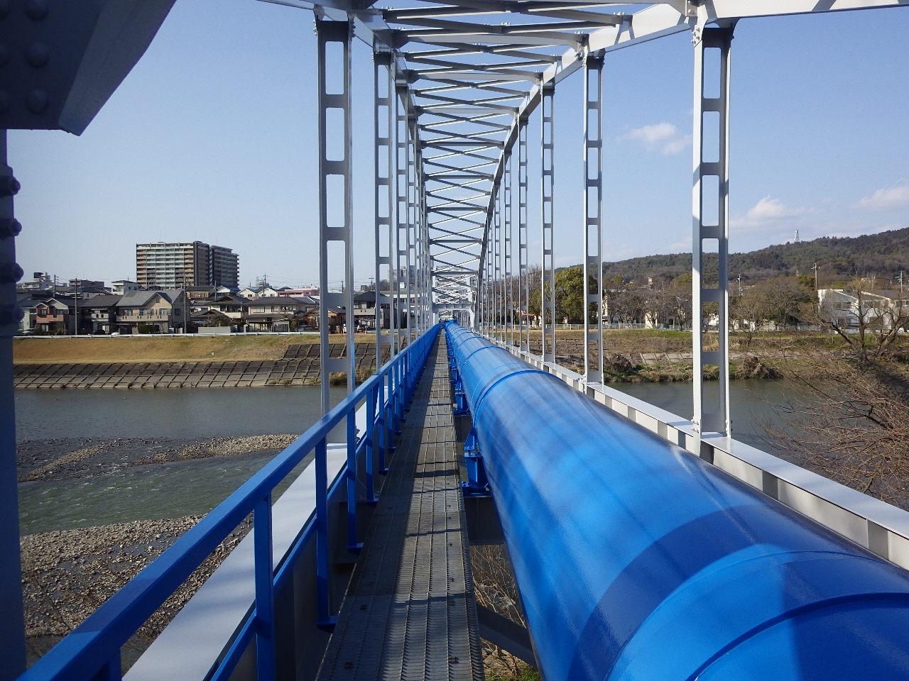 庄内川水管橋塗装補修工事