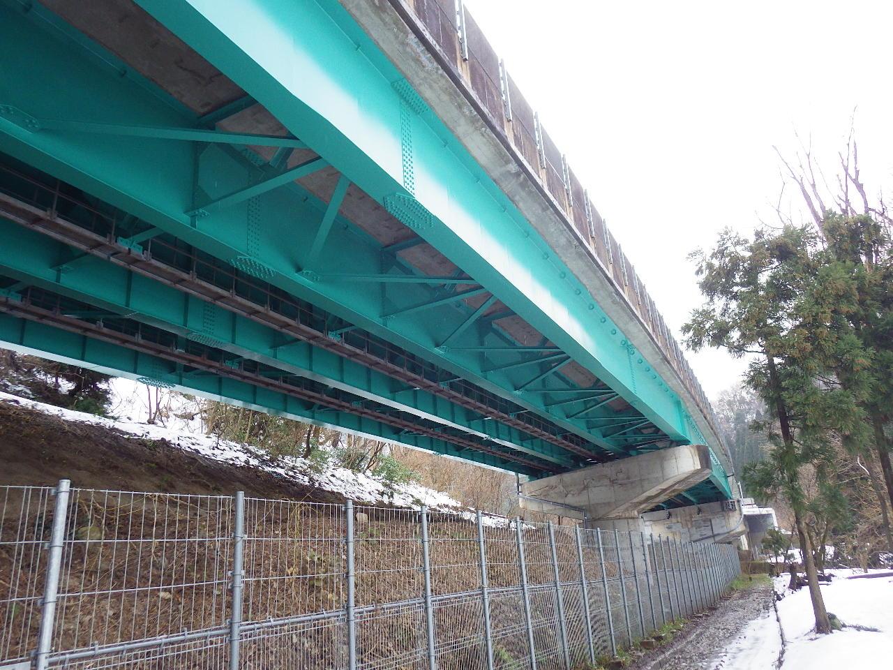 北陸自動車道 木の芽川橋他4橋塗替塗装工事