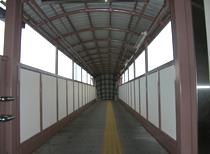 名古屋本線 矢作橋駅構内跨線橋